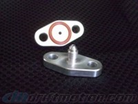 AZ Performance Turbo Oil Feed Flange AN-4