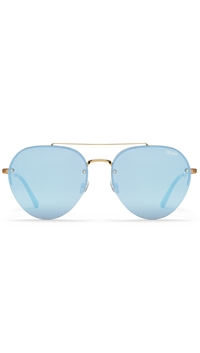 Quay Gold/Lilac Lens 'Somerset' Glasses