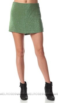MLV Olive Bonnie Mini Skirt