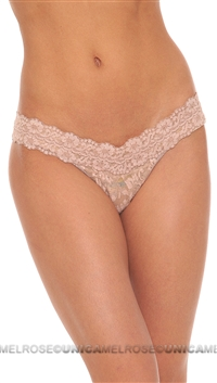 Hanky Panky Nude Signature Lace Lowrider Thong
