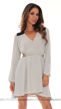 Donna Mizani Warm Grey Dress