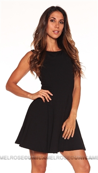 David Lerner Black Mini Dress