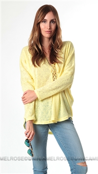 Casting Yellow Dina Top