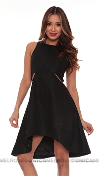 Finders Keepers Black Call me Dress