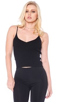 Emory Park Black Sleeveless Top