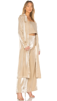 Lovers + Friends Gold 'Jackson' Duster Jacket