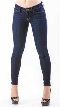 Frame Denim Navy Queens Way Jeans