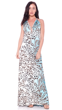 Nicole Andrews Collection Cavali 'Malibu' Maxi Dress