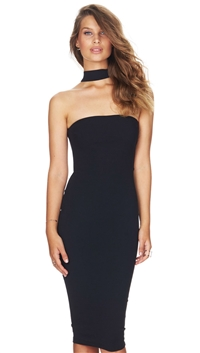 Nookie Black 'Cosmopolitan' Midi Dress