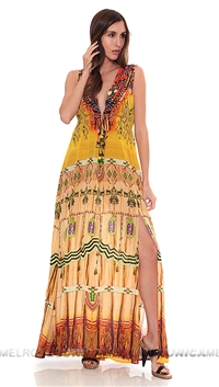 Parides Navajo Tribal Dream Maxi Dress