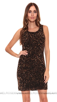 Parker NY Copper Kenzie Dress