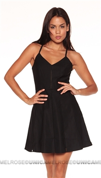 Parker NY Black Juliet Dress