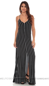 Flynn Skye Black 'Kennedy' Maxi Dress