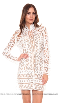 Stone Cold Fox White Topeka Dress