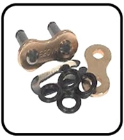 Ryan Aerator Parts # 522122 Chain Master Link With O Ring
