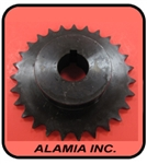 "Bluebird Aerator Parts, #539000303  Tine Wheel Sprocket. Fits 424, B424, H424, B530, H530 & Husq. AR19,  Teeth 1"" ID"