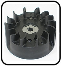 (#28)  Original Mantis Tiller Parts # A409000150  Flywheel Assembly Fits Models · SV-5C/2, SV-5C1/2