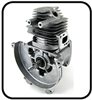 (#2)  Original Mantis Tiller Parts # SB1021 Short Block