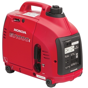 Honda 1000-Watt Super Quiet Gasoline Powered Portable Inverter Generator with Eco-Throttle and Oil Alert