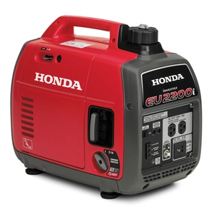 Original Honda EU2200i Watt Super Quiet Gasoline Powered Portable Inverter Generator with Eco-Throttle and Oil Alert