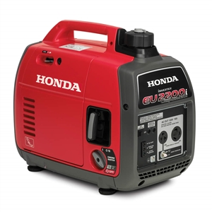 Honda 2200-Watt Super Quiet Gasoline Powered Portable Companion Inverter Generator with Eco-Throttle and 30 Amp Outlet