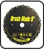 Razor Max Brush cutter blade                       23-Bottom-D