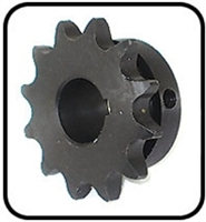 RYA-523603 TOP DRIVE  SPROCKET 12-TEETH 3/4IN ID. FITS OLD RYAN AERATORS
