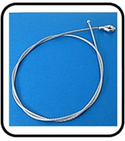 RYA-547445 Clutch Cable Fits LA-4/5 old Style  (Non Folding Handel)