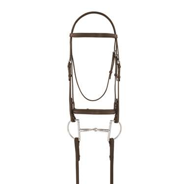 Camelot™ Plain Raised Padded Bridle