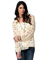 CRUEL GIRL WOMEN'S TUNIC TOP