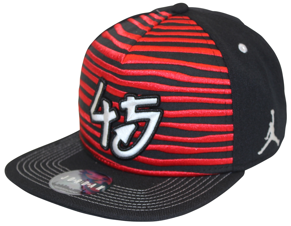 Air Jordan Jumpman Chicago X Double Nickel Black Red Snapback 439f4411097