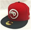 New Era 59Fifty Dissizit! Astro D Red & Black Fitted Cap