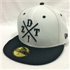 New Era 59Fifty Dissizit! DZT Crossing White & Black Fitted Cap