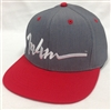 In4mation Script Buckle IN4M Gray & Red Strapback