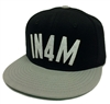 In4mation IN4M Black & Gray Snapback