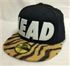 New Era 59Fifty Leaders1354 Yellow Tiger Lead Black Fitted Cap