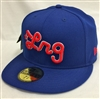 New Era 59Fifty LRG Core Collection Three Blue Fitted Cap