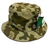 LRG Panda Camo Tan, Brown & Green Reversible Bucket Hat