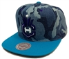 Mitchell & Ness Camouflage Charlotte Hornets Snapback