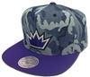 Mitchell & Ness Camouflage Denim Sacramento Kings Snapback