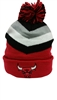 Mitchell & Ness Chunky Knit Chicago Bulls Pom
