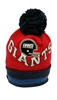 Mitchell & Ness Chunky Knit New York Giants Pom