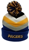Mitchell & Ness Chunky Knit Indiana Pacers Pom