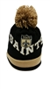 Mitchell & Ness Chunky Knit New Orleans Saints Pom