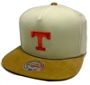 Mitchell & Ness Cream Cord Tennessee Volunteers Tan Strapback