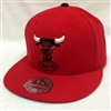 Mitchell & Ness HWC Basic Chicago Bulls Red Fitted Cap