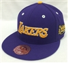 Mitchell & Ness HWC Commemorative Finals 2000 Los Angeles Lakers Purple Fitted Cap