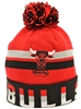 Mitchell & Ness Thick Ribbed Chicago Bulls Red Beanie