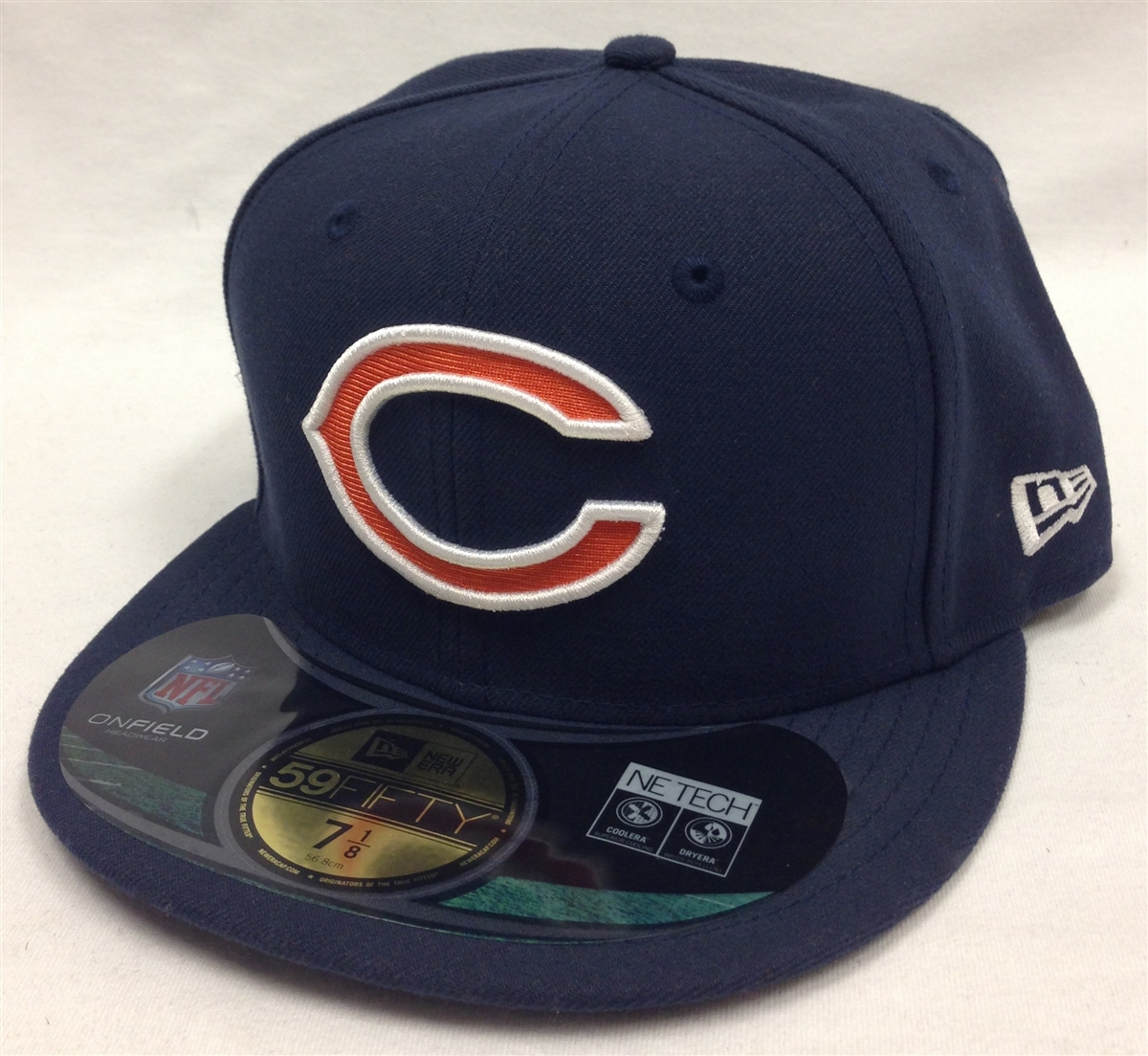 New Era 59Fifty Chicago Bears Onfield Navy Fitted Cap 0f85993de9f0