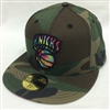New Era 59Fifty Camcolor Swirl New York Knicks Woodland Camo Fitted Cap
